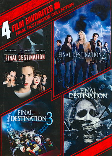 4 FILM FAVORITES:FINAL DESTINATION1-4 BY LARTER,ALI (DVD)